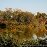 Humboldt Park - Orange water marker