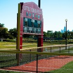 Humbolt Park - The Little Cubs Field scoreboard