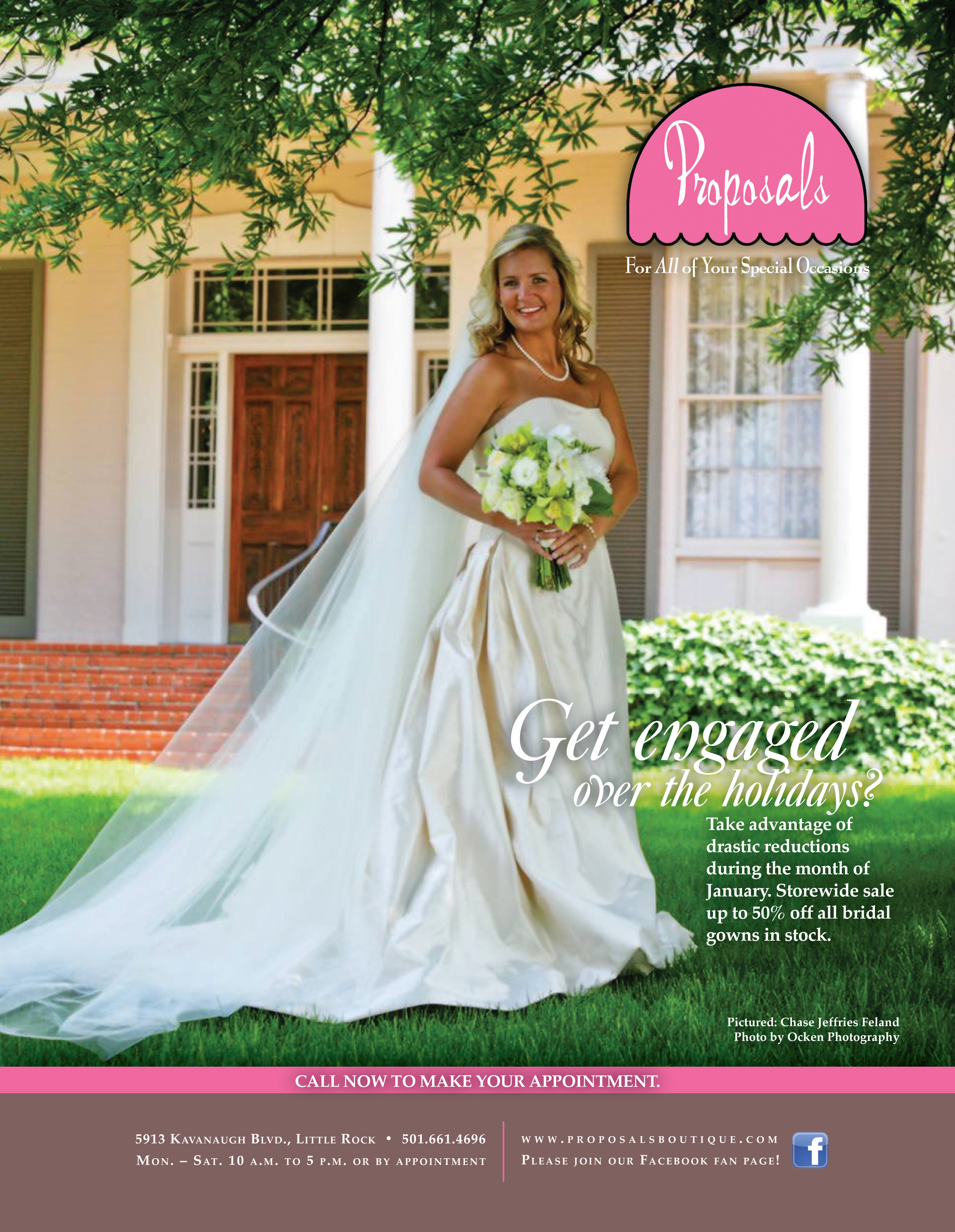 Keep An Eye Out For Our Photography Featured In The New Ad Proposals Dress Shop Located Heights Arkansas Bride Magazine