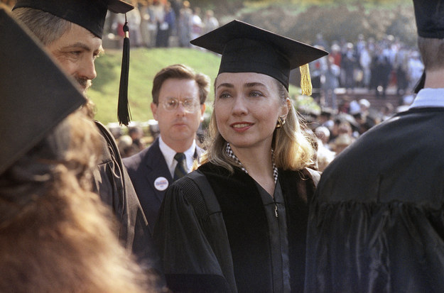 Hillary Clinton, the early 90s