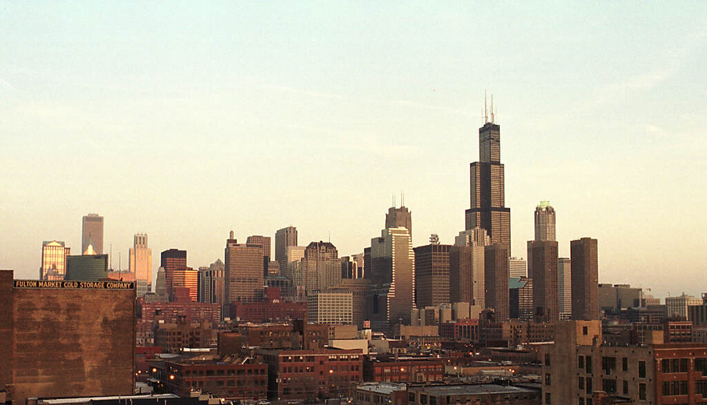 Chicago Impressions Skyline from the west photo by Chris Ocken